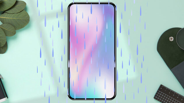 iphoneシャワー